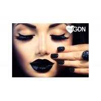 myGDN Postcard -  black caviar