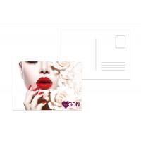 myGDN Postcard - classic red